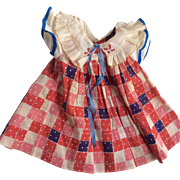 Wonderful Vintage Doll Dress Compo Shirley Temple Type