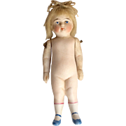 Adorable German All Bisque Doll