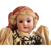 Factory Original German S & H Schoenau Hoffmeister 1909 Bisque Doll