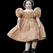 "4"" Miniature China Dollhouse Doll Antique High Brow"