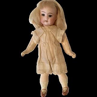 "5.5"" German Bisque Head Miniature Dollhouse Doll Antique"