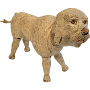 Schoenhut Wood Poodle Dog Antique Doll Toy