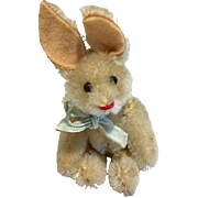 Tiny Vintage Bunny Rabbit German Schuco Teddy Bear