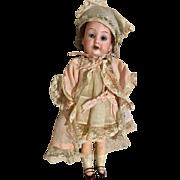 German Antique Bisque Head Flapper Body Doll