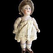 Kestner Antique German All Bisque Doll Great Original Wig