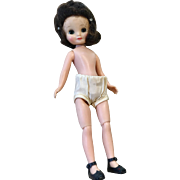 Vintage Betsy McCall Doll American Character 1950s Hard Plastic Original Shoes