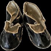 Antique German Doll Shoes
