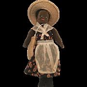 Vintage Black African American Norah Wellings English Cloth Doll All Original