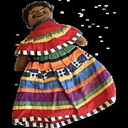 Unusual Seminole Indian Vintage Native American Doll