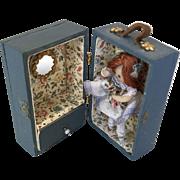 Fantastic Miniature Doll Trunk Dollhouse Artist Display