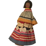 Vintage Florida Seminole Indian Native American Doll