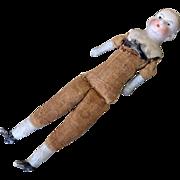 Antique Dome Bisque Head Dollhouse Doll