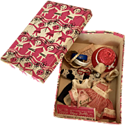 Vintage 1950s Vogue Ginny Doll Box Clothes Accessories