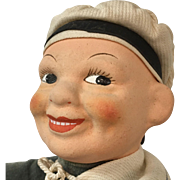 Vintage Character Sailor Doll with Smiling Face Teeth