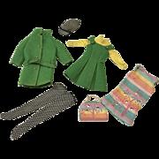 Vintage Mattel Skipper Doll Clothes 2 Outfits Barbie Little Sister