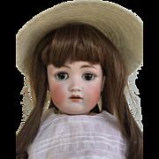 """Darling 18"""" Antique German Bisque Head Kestner JDK 214 Doll"""