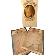 Bernina's Bernadette Doll, Dress, Petticoat & Bloomers Kits