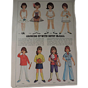 Betsy McCall Paper Dolls,McCall's Magazine, April, 1976