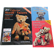 2nd. Steiff Values, plus 2 German Animal Price Guides