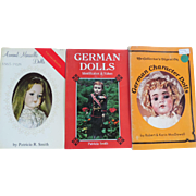 Three Doll Identification Books