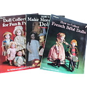 Three Books on Doll Collecting by Mildred Seeley