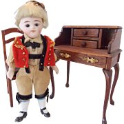 "4"" Original All Bisque Norwegian Boy"