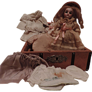 "Sweet 5"" Doll with Her Trunk and Wardrobe"