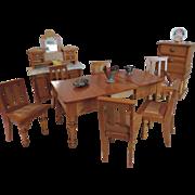 Schneegas Dining Room Furniture ~ 9 Pieces Plus Accessories