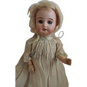 """Cute 9"""" Antique Bisque Head Little Girl ~ Greatly Reduced!"""