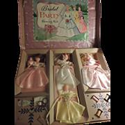 Bridal Party Dolls Sewing Kit, Hasbro, 1930/40's