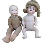 2 Naked Bisque Babies