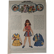 Betsy McCall Paper Doll, McCall's, May, 1972