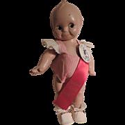 Cameo Kewpie Doll, Original, with Prize Ribbon