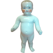 Rare 16 In. Frozen Charlie Bathing Doll with Pink Tint, Cheek Blush and Blonde Curls,