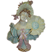 Antique German Porcelain Art Noveau Figurine by J.D. Kestner