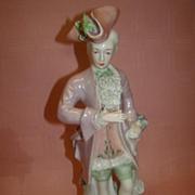 13-3/4 In. Handsome French Corday Gentleman, Excellent