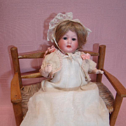 8 In. German Antique Marseilles Character Baby #590, Open/Closed Mouth, Sleep Eyes