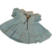 Factory Blue Doll Dress for a Compo or Hard Plastic Doll
