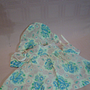 Vintage Three-Pc Cotton Hand-Made Outfit for Composition Child Doll