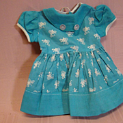 Lovely Quality Factory Cotton Dress in Solid and Printed Teal