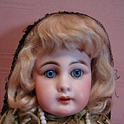 """15"""" Model 939 Simon & Halbig Estate Doll, Preserved to the Hilt in Original Clothes, Unders, Body and Wig, Unbelievably Awesome!"""