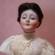 Largest Size 20-1/2 Inch Kestner Gibson Girl, Cir:  1910
