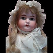33.5 In. Kammer & Reinhardt Bisque Head Doll, Original Body, Excellent and Super Size!