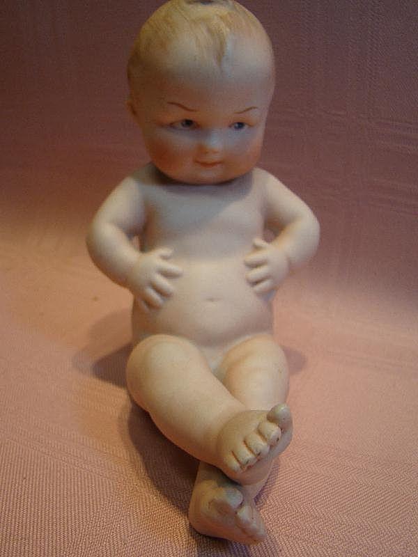 Gebruder Heubach #2 Porcelain Position Baby, Germany