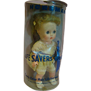 "11"" Horsman ""Life Savers Doll,"" in Original Box Never Removed, Used as Advertisement by the Life Savers Corporation"