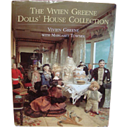 Dollhouse Book ~ The Vivien Greene Dolls' House Collection ~ Like New Hardback with Cover
