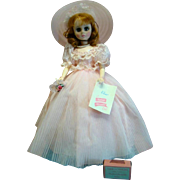 Beautiful MIB Madame Alexander Elise Bridesmaid in Pink with Auburn Hair and Blue Eyes, Gorgeous Doll!