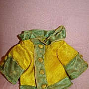 Old Silk Doll Jacket or Coat for Polichinelle