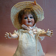 9-1/2 In. Antique German Character Toddler by Gans & Seafarth