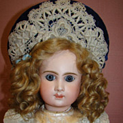 "22"" Scarce Antique French Bebe' Phenix 1889-1900"